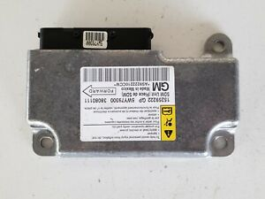 2008-2009 Pontiac G6 15259222 SRS Safety Restraint System Control Module
