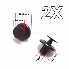 2X Engine Shield Cover, Wheel Arch Inner Wing Lining clips for Toyota, Lexus