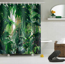 """Waterproof Polyester Tropical Palm Leaves Bathroom Decor Shower Curtain 72x72"""""""