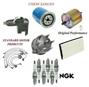 Tune Up Kit Filters Wirre Spark Plugs For FORD BRONCO II V6 2.9L 1988-1990