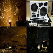 1 Set DIY Stern Projektorlampe Galaxis Gestirne Projektion Laser Fantasiegebilde