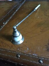 Vintage Mother Of Pearl & Silver Candle Snuffer