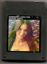 "Crystal Gayle ""Somebody Loves You"" 8-Track Tape 1975 United Artists"