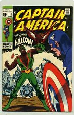 CAPTAIN AMERICA #117 (1969) VF ( FIRST APPEARANCE FALCON ) STAN LEE & GENE COLAN
