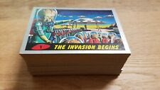 Topps Heritage 2012 Mars Attacks 1 - 55 Complete Silver Base Card Parallel Set