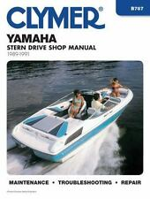 Yamaha Stern Drive Shop Manual, 1989-1991 (Clymer Marine Repair)-ExLibrary