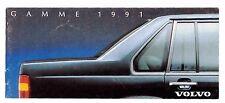 VOLVO  LA GAMME 1991 - CATALOGUE COMMERCIAL