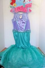 Disguise~DISNEY PRINCESS ARIEL Mermaid Halloween COSTUME~Girls Medium (7-8)~NWT