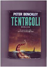 "Peter Benchley ""Tentacoli"" Longanesi 1° edizione"