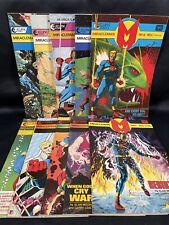 Miracleman (1985) #1-10 by Alan Moore, Neil Gaiman, Eclipse Comics