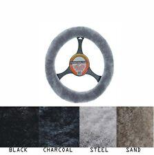 LUXURIOUS AUS Sheepskin Steering Wheel Cover