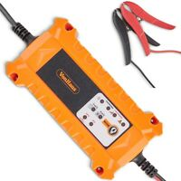 VonHaus Car Battery Trickle Charger with Advanced Vehicle Diagnostics 4A