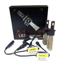 NEW Fanless Canbus 9006 HB4 30W LED Headlight Kit 6000K White Super Bright Bulbs