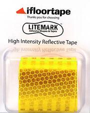 """LiteMark Neon High Intensity Light Focusing Reflective Tape (2"""" X 36"""" Roll)"""