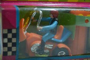 Vintage 70´s Battery Operated Remote Controlled Motorcycle Trike Chopper NIB Or