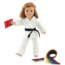 """Fits 18"""" American Girl Doll Karate Outfit - 18 Inch Doll Clothes/clothing"""