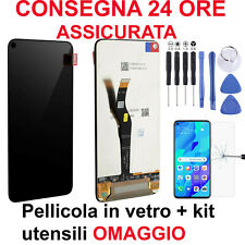 DISPLAY LCD TOUCH SCREEN HUAWEI NOVA 5T YAL-L21 NERO VETRO SCHERMO ORIGINLE