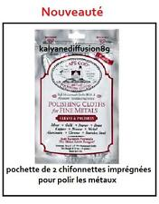 Cape Cod Polishing Cloths for Fine Metals Pack of 2  Cleans Polish JANTES BMW