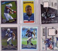 2012 Rookie Lot (6) - DWAYNE ALLEN -  Colts RC - Chrome, Refractor, 2 Jerseys