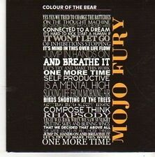 (BZ549) Mojo Fury, Colour Of The Bear - 2011 DJ CD