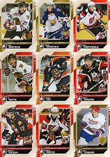 10/11 ITG HEROES PROSPECTS ROOKIE UPDATE SET #151-200 SCHEIFELE BARTSCHI STROME