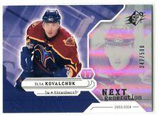 2003-04 SPx 173 Ilya Kovalchuk NG 347/500