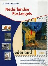 Officiele PTT jaarcollectie Ned postzegels 2003 Luxe