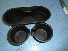 LAND ROVER FREELANDER DASH BOARD TWIN CUP HOLDER WITH MOUNT AND INSERTS IN BLACK