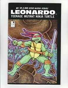 TMNT Leonardo #1 (1986 Mirage Studios) - Micro Series - 9.4 Near Mint HIGH GRADE