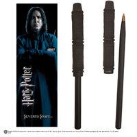 Harry Potter Severus Snape Prof. Piton Wand Pen And Bookmark - Penna Segnalibro