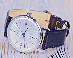 POLJOT de luxe legendary ULTRA slim Russian watch! Mechanical,Timeless classics!