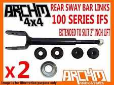 "TOYOTA LANDCRUISER IFS 100 SERIES EXTENDED SWAY BAR LINKS TO SUIT 2"" INCH LIFT"