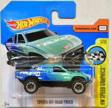 HOT WHEELS 2017 HW SPEED GRAPHICS TOYOTA OFF-ROAD TRUCK SHORT CARD