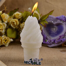 Ice Cream Candle Mold Silicone Soap Molds DIY Decorating Tools Chocolate Candy