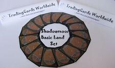 Shadowmoor Complete Basic Land Set // 20|20 // NM-EX // engl.
