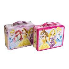 Children's Princess Tin Lunch Box