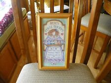 """""""Mom'S Fix It Shop"""" Wood Frame Picture"""