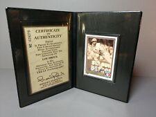 LOU BROCK 1991 Upper Deck Heroes of Baseball AUTOGRAPHED #H6 Trading Card w/CoA!