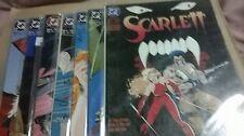 SCARLET COMICS LOTS OF 1 THRU 7  ALL RELEASE IN 1993