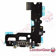 "Iphone 7 7G 4.7"" muelle de carga puerto Flex Cable Cinta Negro UK"
