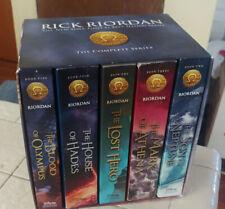 The HEROES OF OLYMPUS complete series 1-5 t Rick Riordan Box Set