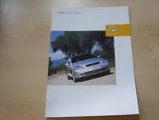 52825) Opel Astra Njoy Prospekt 12/2002