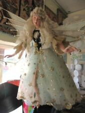 New Beautiful Katherine's Collection Christmas Celestial Angel doll collectible