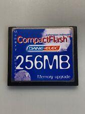 Dane-Elec 256MB Compact Flash Memory Card - Good Condition - FREEPOST