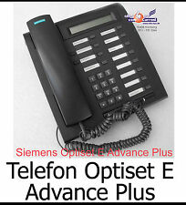 SYSTEMTELEFON SIEMENS OPTISET E ADVANCE PLUS BLACK SCHWARZ S30817-S7006-A108-2