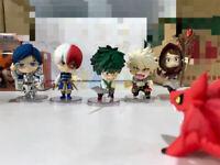 6pcs/set  Anime My Hero Academia Q Ver. PVC Figure Model In Box