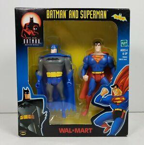 BATMAN/SUPERMAN 2-Pack The New Batman Adventures Walmart Special Edition 2001