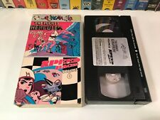 The Mighty Hercules / Speed Racer Vol. 6 Rare VHS 1986 Animation Cinema Kid 80's