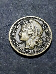1925 Togo (French Mandate) 50 Centimes Coin #9994