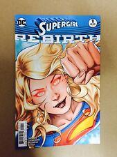 SUPERGIRL REBIRTH #1 FIRST PRINT DC COMICS (2016) SUPERMAN